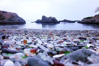 Ailleurs : Glass Beach, la plage de verre - Fort Bragg - Parc Régional de MacKerricher - Californie