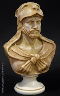 Buste d'Hercule à la peau de lion