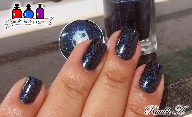 Azul, Blue, Holográfico, Anna Gorelova, Anna Gorelova HollOWLeen 2015 Collection, Anna Gorelova 05 -  Дрёма / Sandman, 08 - Водяной / Vodyanoy, Anna Gorelova by Dance Legend,