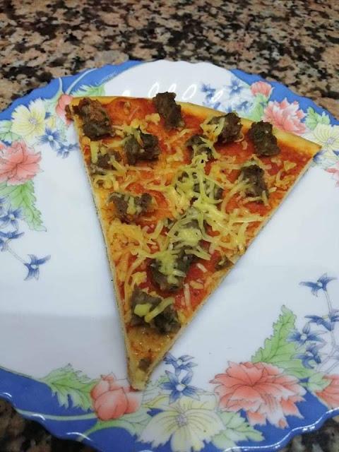 البيتزا الطرية الناعمة