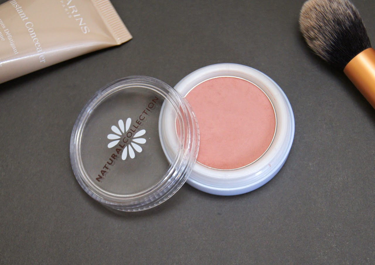 natural collection peach melba blush review