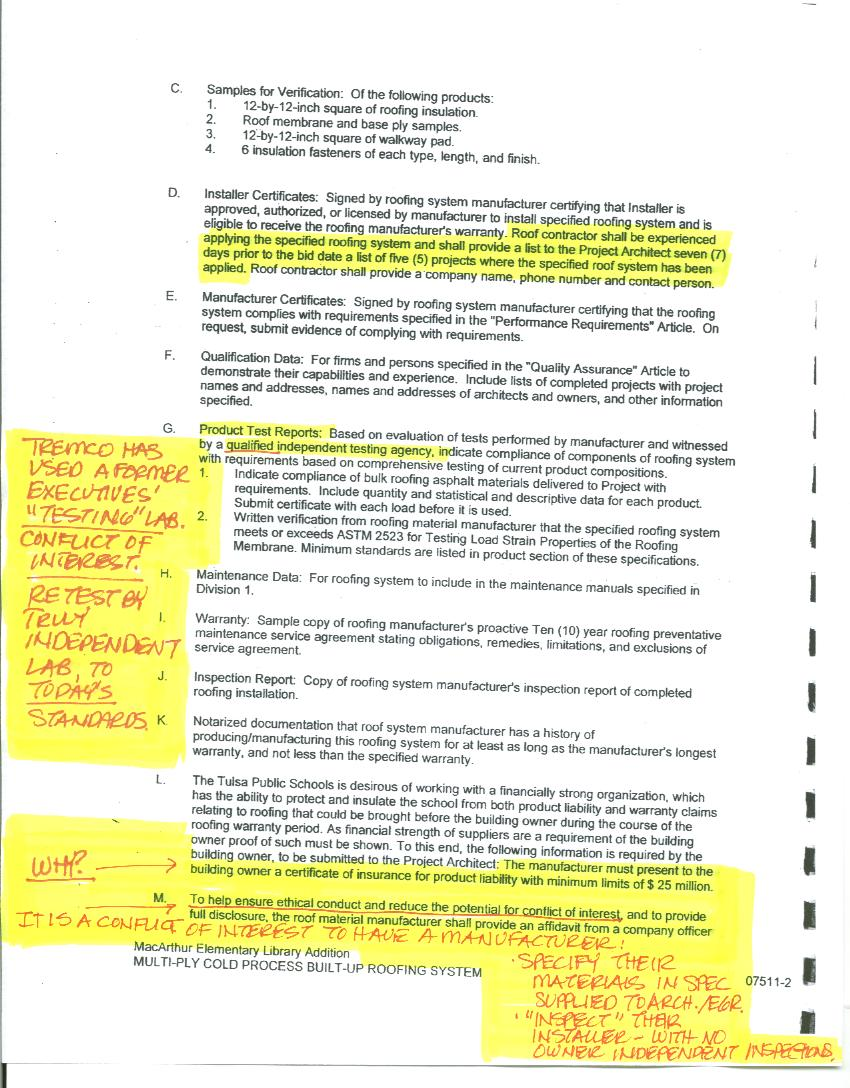Roofing Scam Targeting Schools And Public Work November 2011