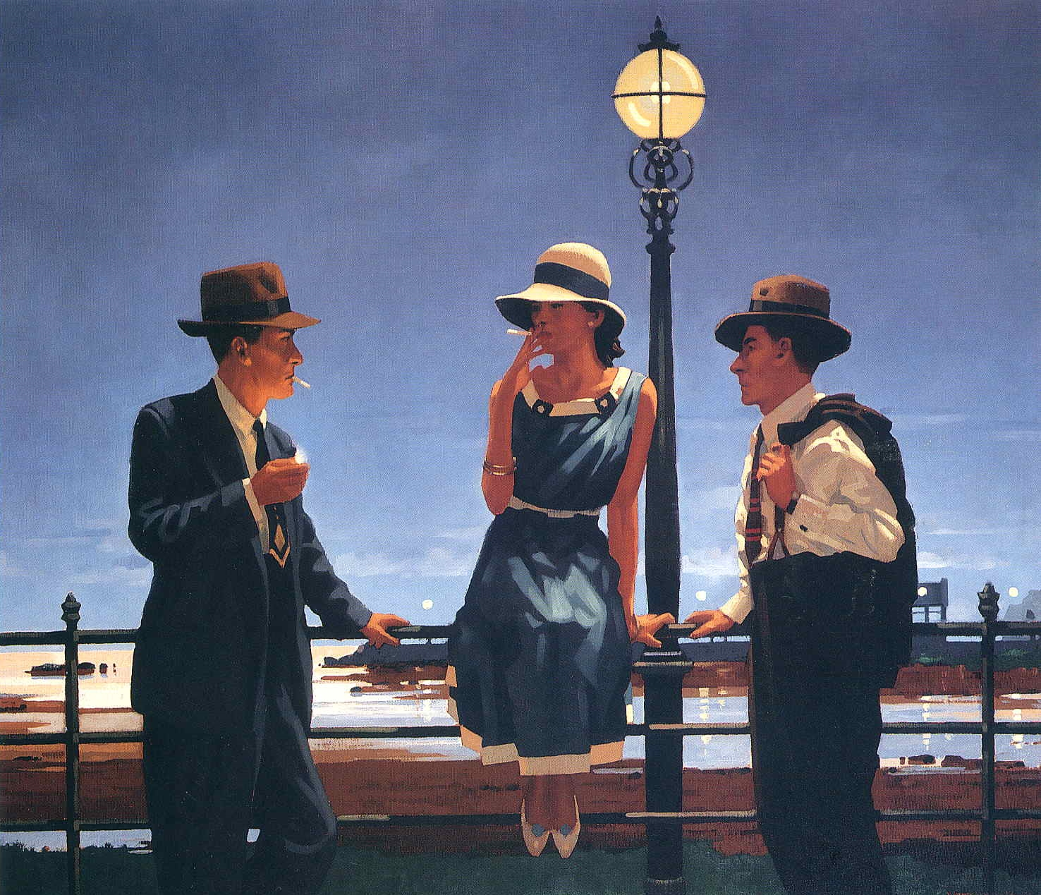 Jack Vettriano could have done scene setting in Napier