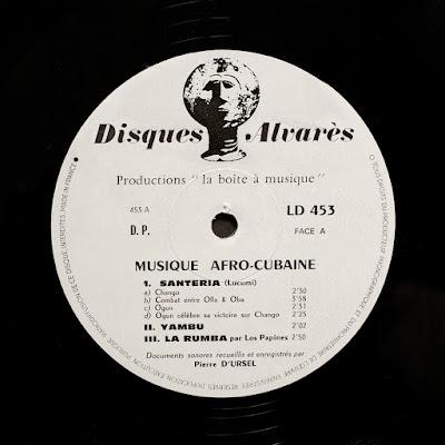 MusicRepublic CUBA – Musique Afro-Cubaine – Disques Alvarès 453