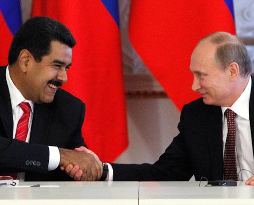 """Maduro crea premio """"Hugo Chávez a la paz"""" y nombra a Putin como ganador"""