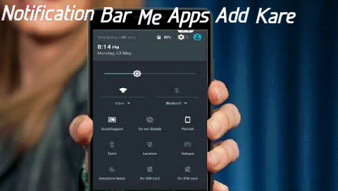 Android-Mobile-Ke-Notification-Bar-Me-Apps-Add-Kaise-Kare