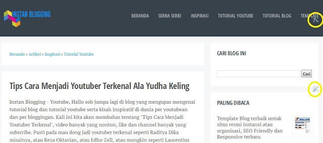 Cara Menghilangkan Icon Obeng dan Tang di Blog Blogger