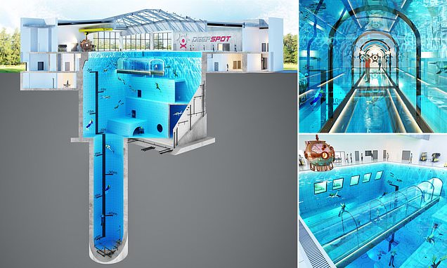 Polanddidit:The deepest Pool in the world with an underwater ...