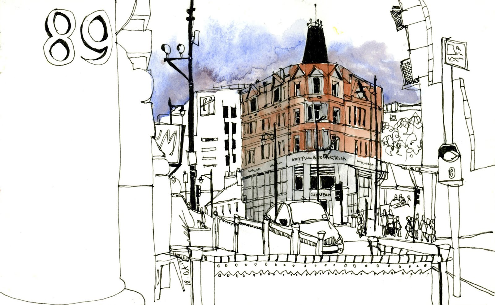 Exterior: Workshop 16: Focus Your Sketching Stories