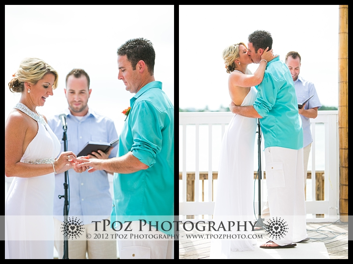 Key West Destination Wedding Ocean Key Resort Wedding Ceremony