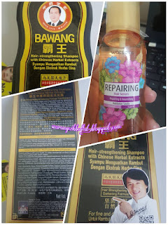 Shampoo bawang , Watson hair serum habbatus sauda