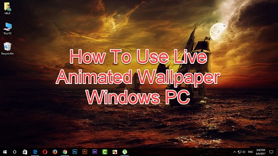 how to use live animated wallpaper
