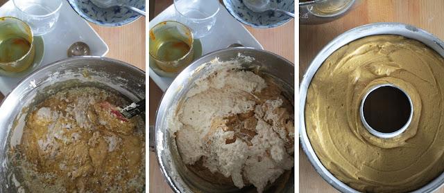 Bizcocho 4 cuartos de pan de jengibre (Siempredulces) - Elaboración Paso 3