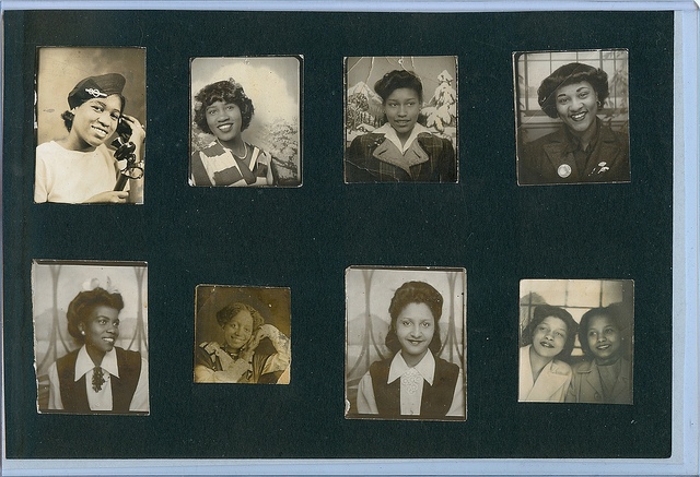 Vintage African American Portrait Photographs
