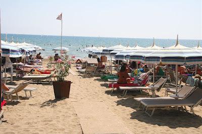 private beach area at Castiglione della Pescaia