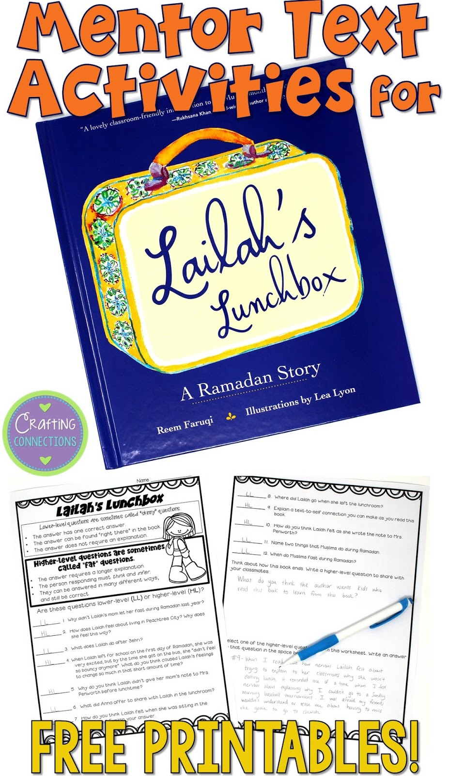 Lailah's Lunchbox: A Mentor Text Activity that Focuses on