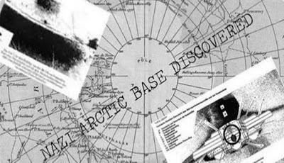 Markas Rahasia Nazi ditemukan di Kutub Utara
