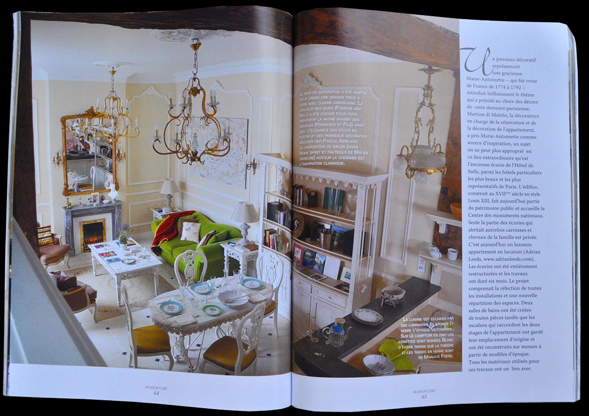 maison chic magazine best juin maison chic magazine dedicates pages to with maison chic. Black Bedroom Furniture Sets. Home Design Ideas