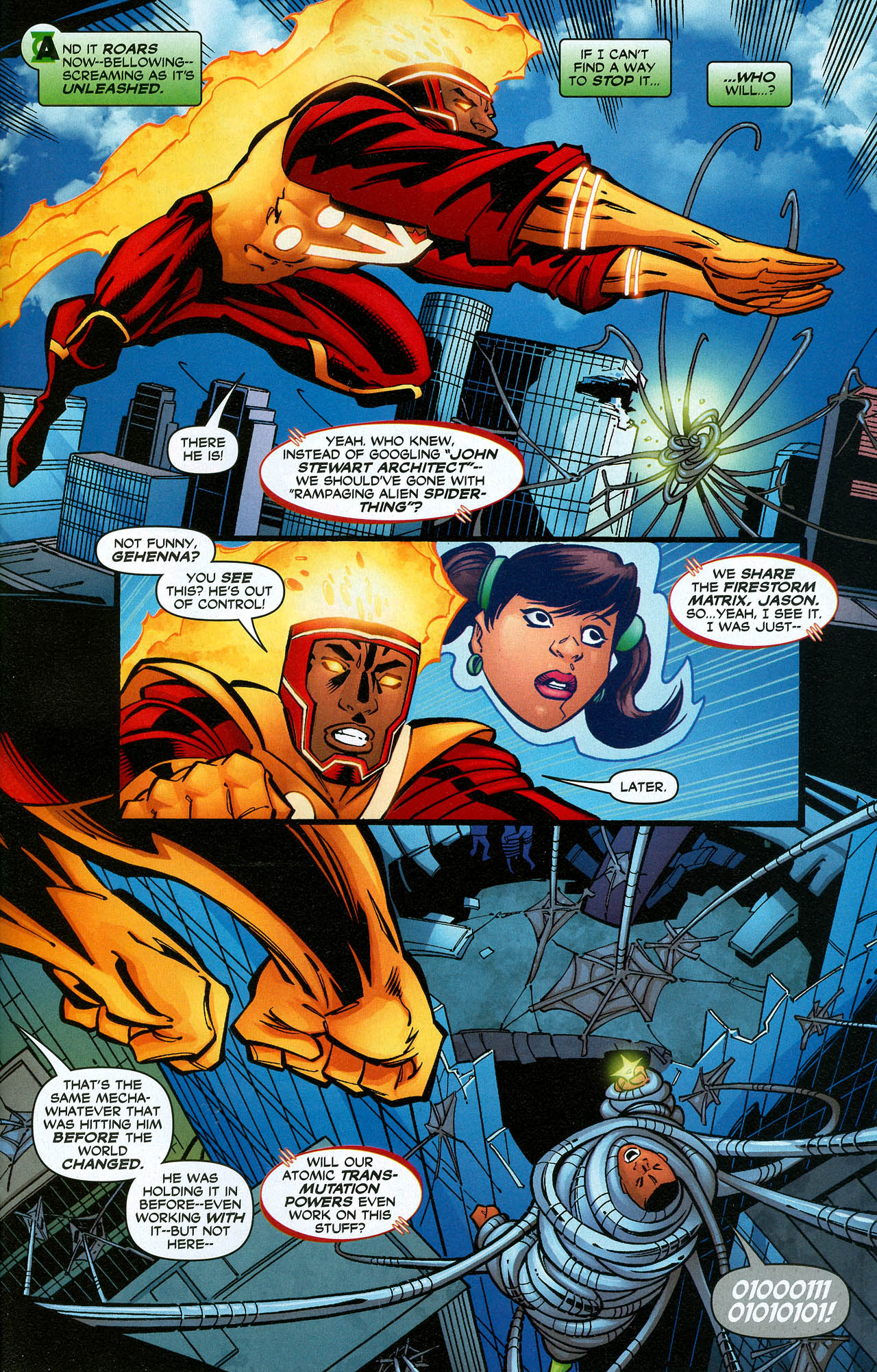 Read online Trinity (2008) comic -  Issue #21 - 27