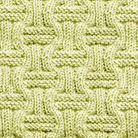 Knit Purl 8: Double Basketweave | Knitting Stitch Patterns. It's a great stitch for Scarf, Shawl/Wrap