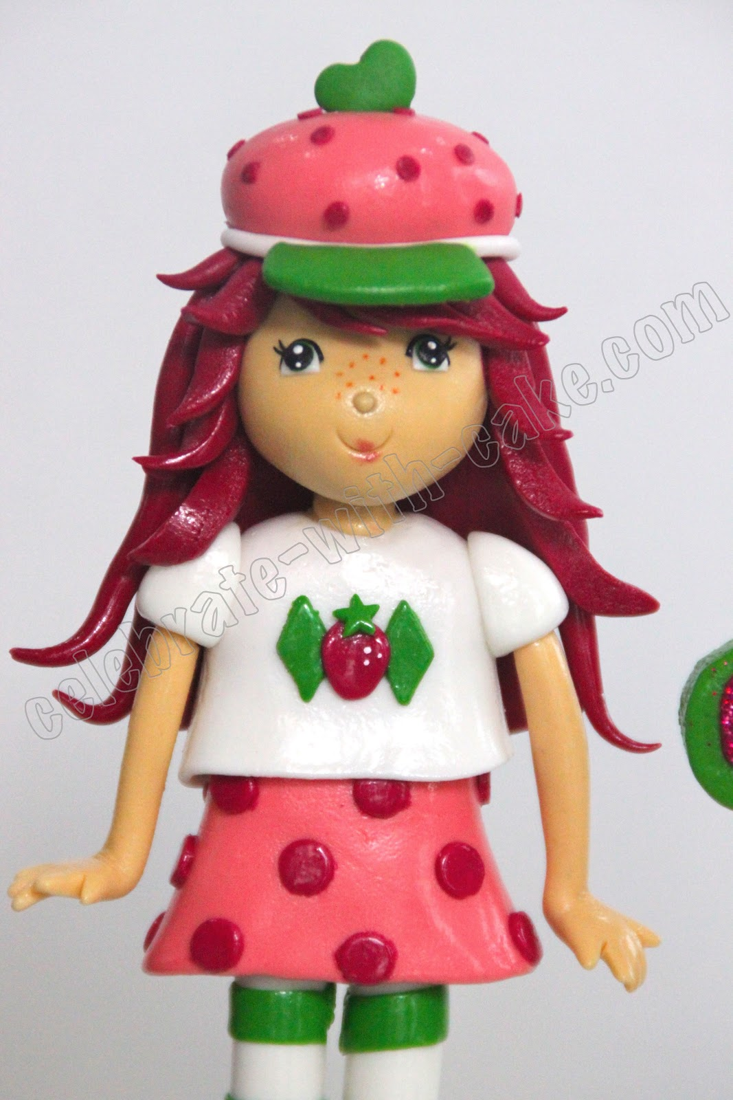Strawberry Shortcake Cake Topper Singapore