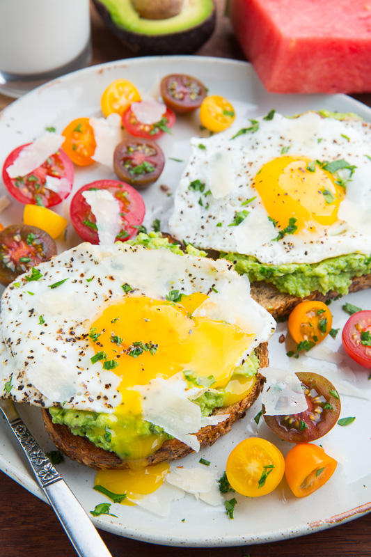 Avocado Toast with Fried Egg