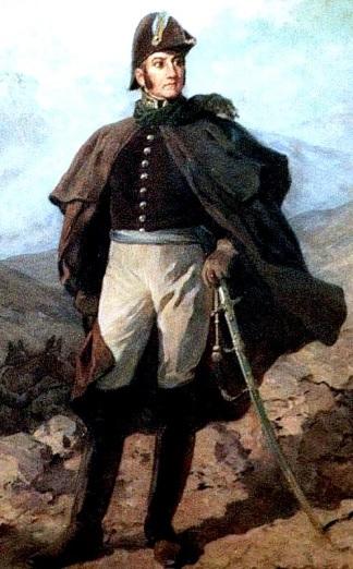 Imagen de Don José de San Martín parado