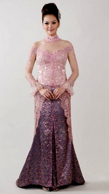 model kebaya gaun pengantin