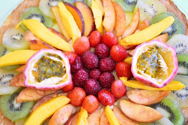 fruits frais recette