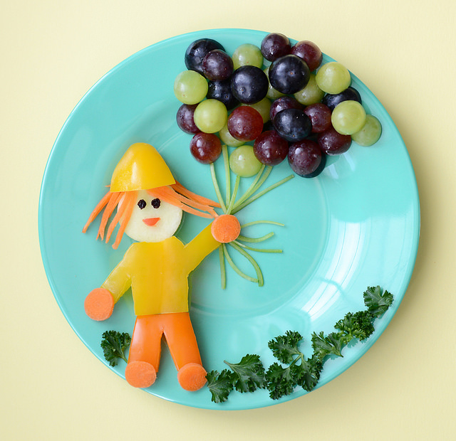 20 Easy Healthy And Edible Food Art For Kids