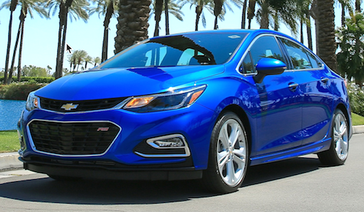 2019 Chevy Cruze Hatchback Redesign