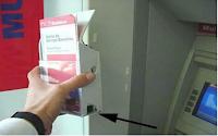 spy camera on atm machine