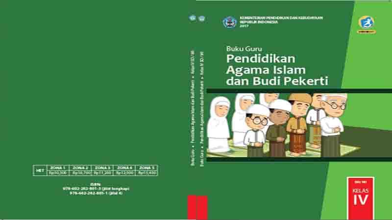 Buku Guru Kelas 4 Sd Pendidikan Agama Islam Dan Budi Pekerti K13 Revisi 2017 Gurusd Id