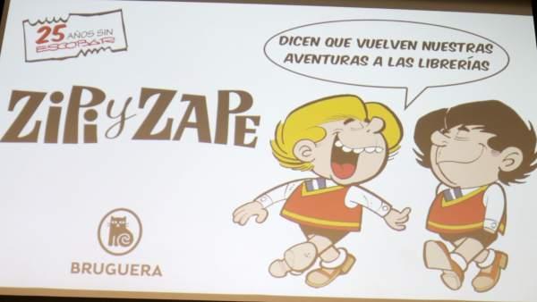 Presentación de la nueva colección de 'Zipi y Zape'