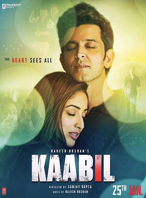 Poster Kaabil (2017) Full HD Hindi Movie Download 720p