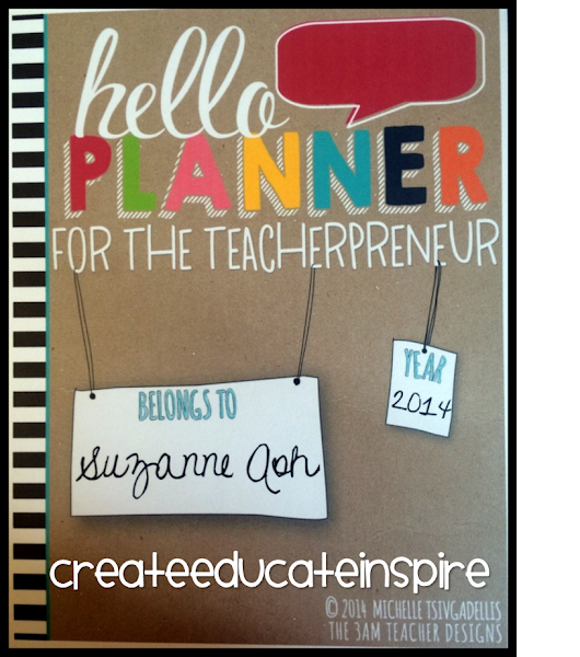 helloPLANNER from The 3AM Teacher