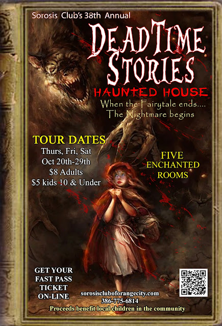 DEADTIME STORIES HAUNTED HOUSE OPENS OCT 19TH