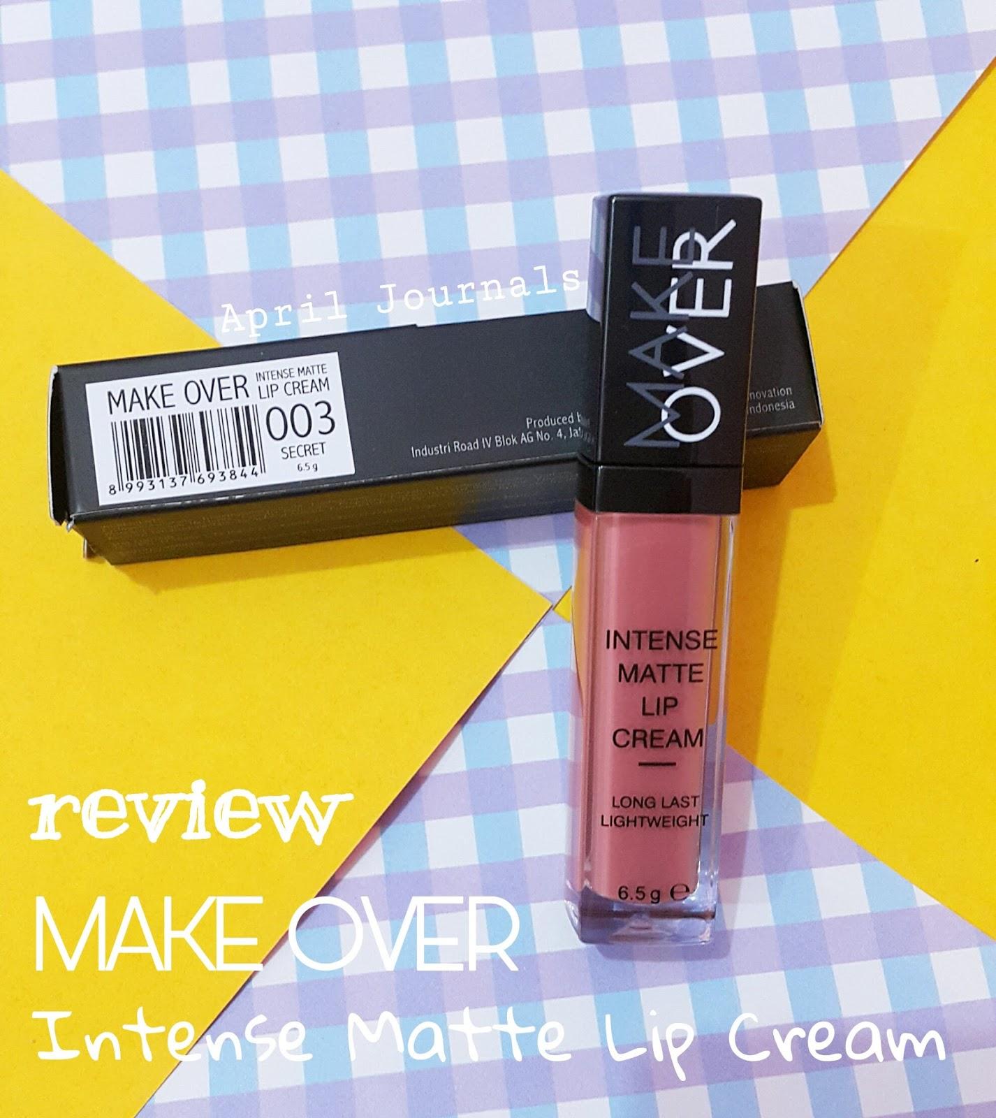 Make Over Intense Matte Lip Cream 03 Secret Lihat Daftar Harga Lipcream And Finally Mengeluarkan Nya Yang Pertama Yaitu