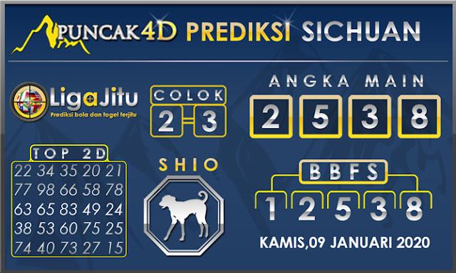 PREDIKSI TOGEL SICHUAN PUNCAK4D 09 JANUARI 2020