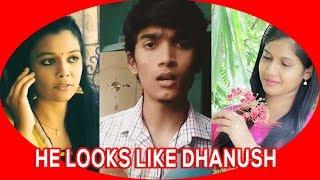 Dhanush lookalike – Prathiba – Tamil Dubsmash
