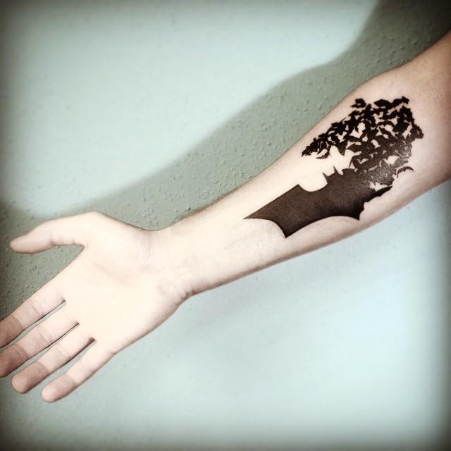 50 tatuagens incríveis do Batman!