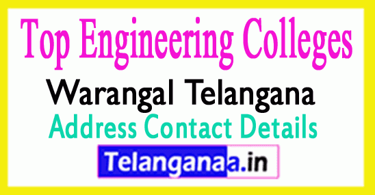 Top Engineering Colleges in Warangal Telangana