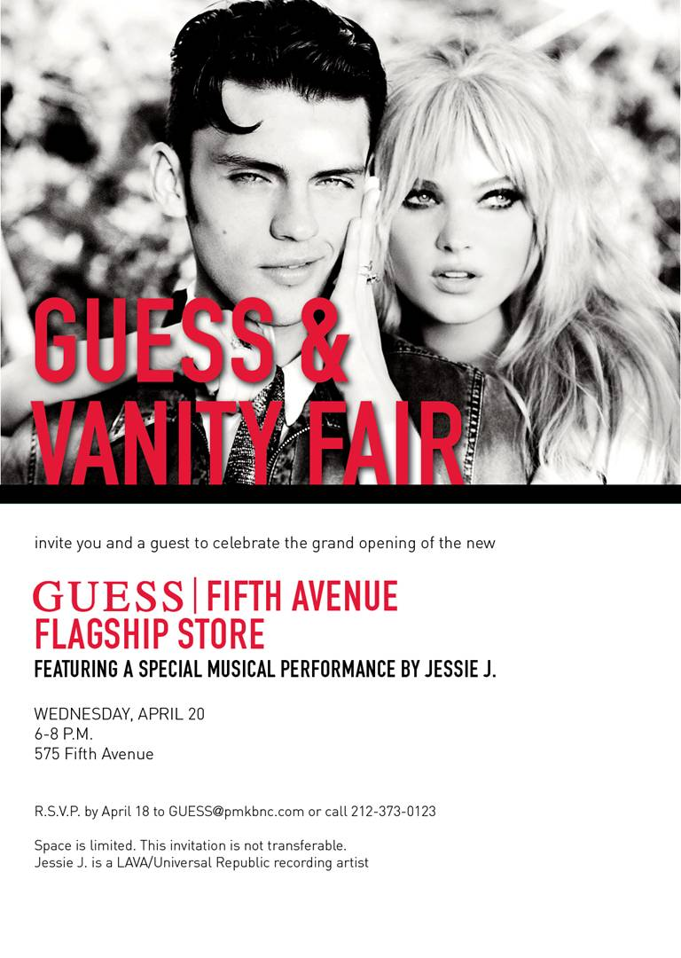 e516928300e7 Finally the flagship store for GUESS North America has opened! It will be  the largest store in North America for Guess! Vanity Fair hosted the event.