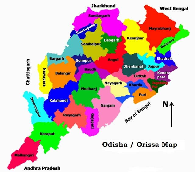 Orissa-Odisha-State-map-maps