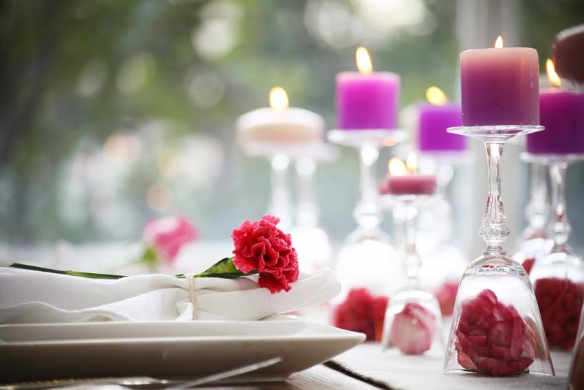 diy candelabros con copas y velas decorar mesa san valentin cena 14 febrero facil y low cost