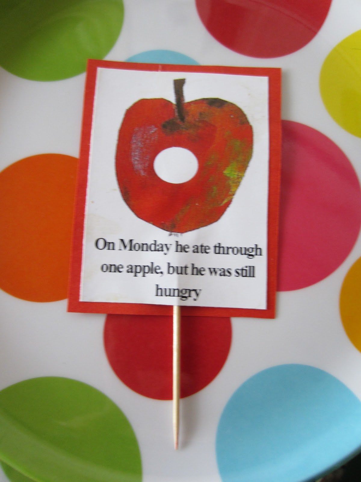 Learn With Play At Home  Very Hungry Caterpillar Food Labels