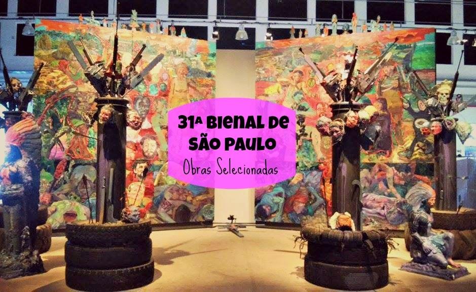Passeios - 31ª Bienal de São Paulo, Obras Selecionadas