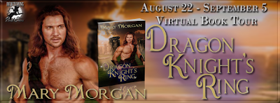 Bewitching Book Tour Banner for Mary Morgan's Order of the Dragon Knight's series