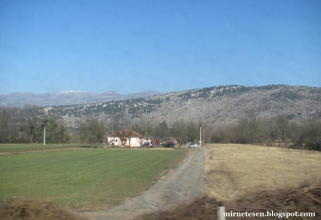 Из Мостара в Подгорицу на автобусе