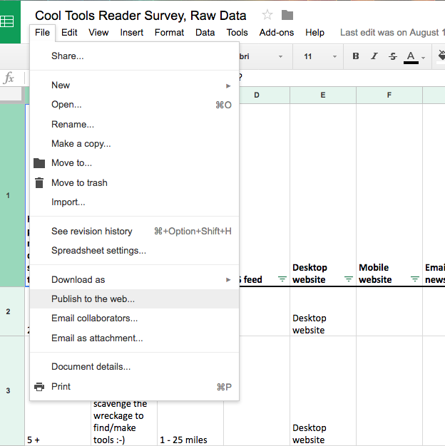 Ben's Journal: WP All Import and Google Sheets - Best Buddies, and